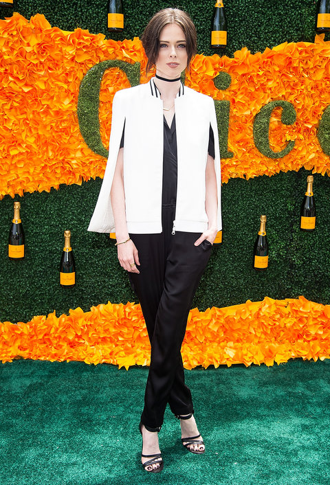 JERSEY CITY, NJ - JUNE 04:  Model Coco Rocha attends the 2016 Veuve Clicquot Polo Classic at Liberty State Park on June 4, 2016 in Jersey City, New Jersey.  (Photo by Michael Stewart/WireImage)