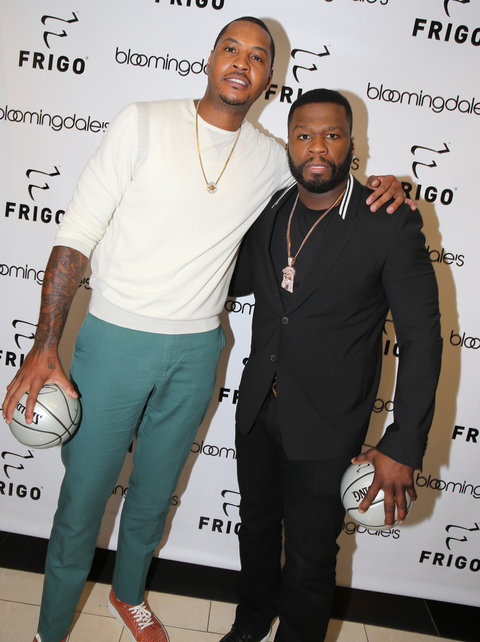 50 Cent and Carmelo Anthony - Embed 1