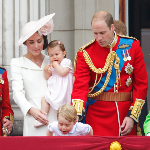Royal Family Trooping the Colour 2 - Embed 2016