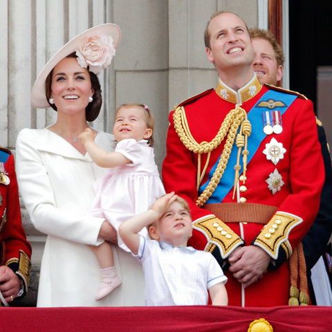 Royal Family Trooping the Colour 3 - Embed 2016