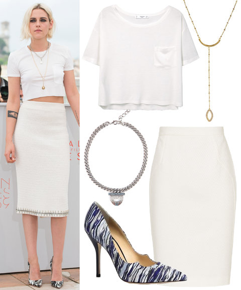 White Tee Styling  3
