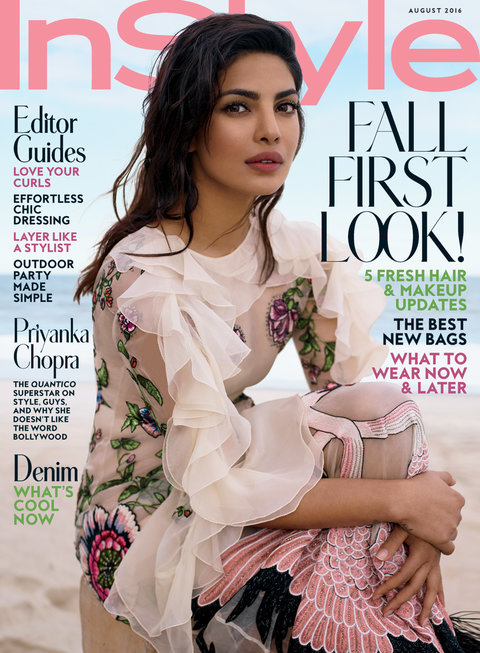 Priyanka Chopra August 2016 Cover
