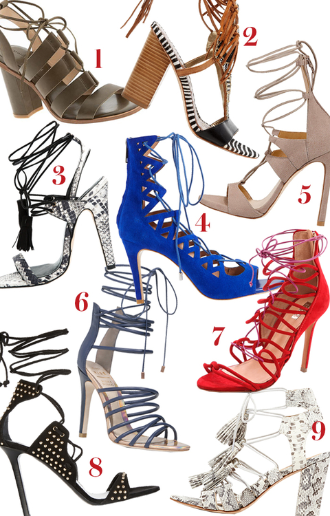Lace-up Heels embed