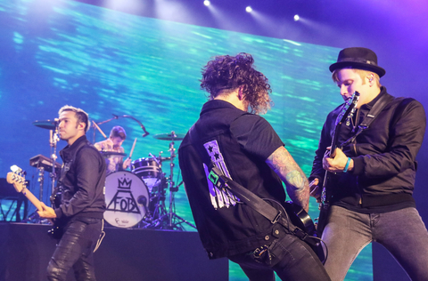 Fall Out Boy And Wiz Kalifah In Concert - Wantagh, NY