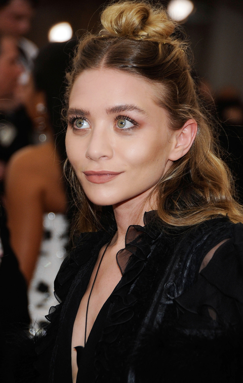 Ashley Olsen  arrives at  China: Through The Looking Glass  Costume Institute Benefit Gala at the Metropolitan Museum of Art on May 4, 2015 in New York City.