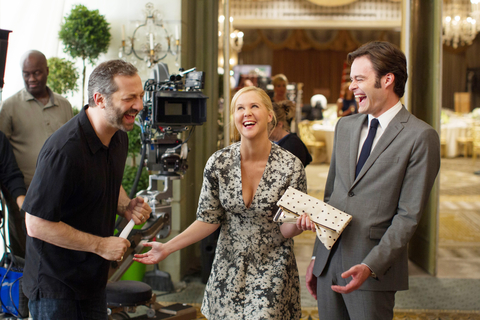 TRAINWRECK, from left: Amy Schumer, Bill Hader, 2015. ©Universal Pictures/courtesy Everett