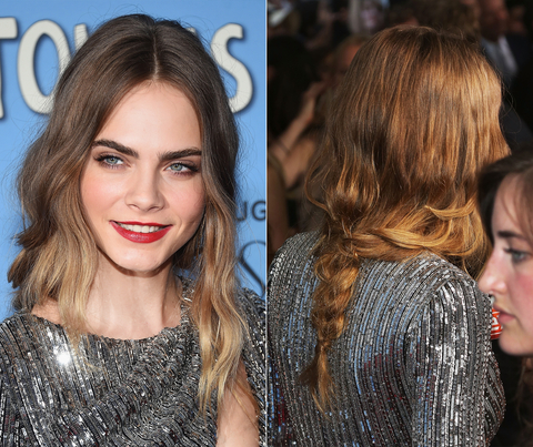Cara Delevingne - Paper Towns NYC Premiere Hair - Embed