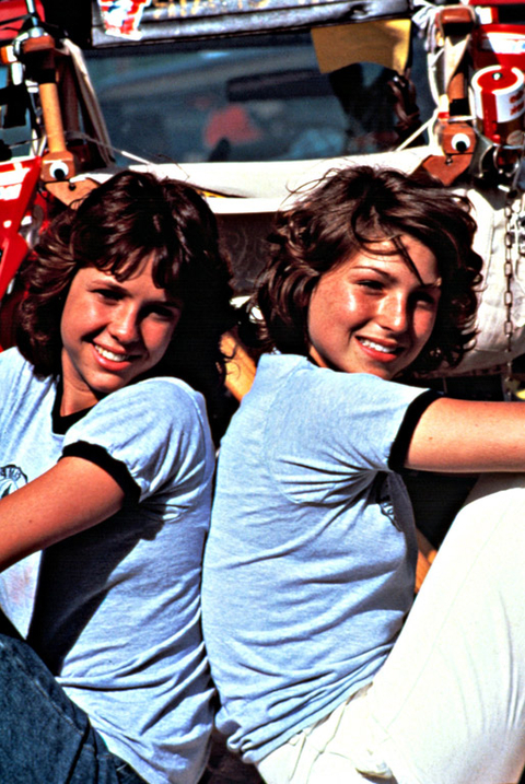LITTLE DARLINGS, Kristy McNichol, Tatum O'Neal, 1980. (c) Paramount/courtesy Everett Collection