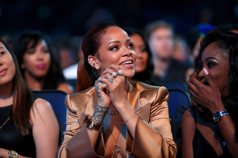 Recording artist Rihanna attends the 2015 BET Awards at the Microsoft Theater on June 28, 2015 in Los Angeles, California.