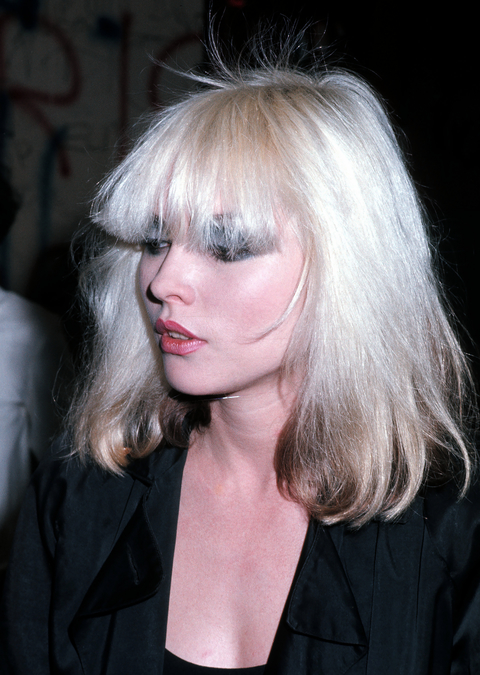 Blondie Backstage at the Whisky a Go Go in Hollywood - February 9, 1977