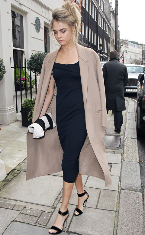 Cara Delevingne Sighting In London - February 7, 2014