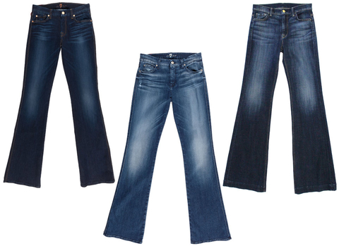 Petite Flare Jeans - Embed