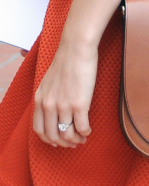 Newly Engaged Emmy Rossum Out In Beverly Hills