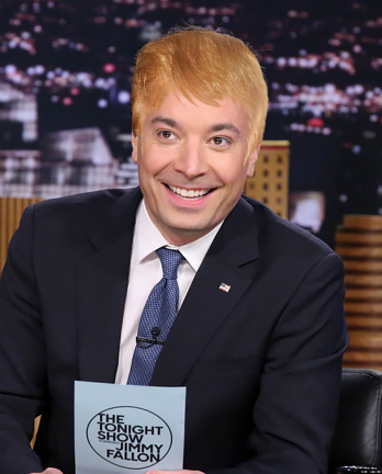 Donald Trump Hair - Jimmy Fallon