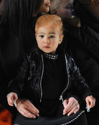 Donald Trump Hair - North West