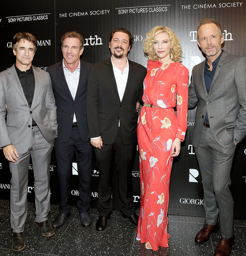Giorgio Armani And The Cinema Society Host A Screening Of Sony Pictures Classics'  Truth