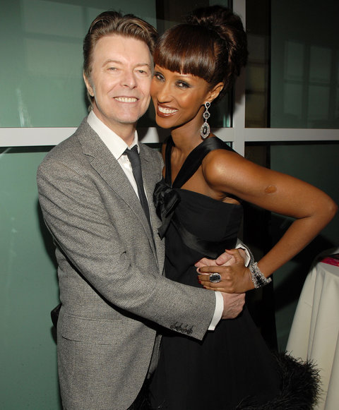 David Bowie and Iman, Tommy Hilifiger