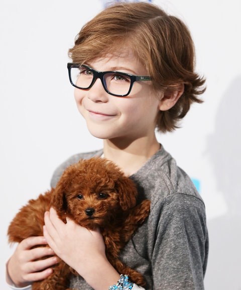Jacob Tremblay Puppy WE Day - Embed 2016