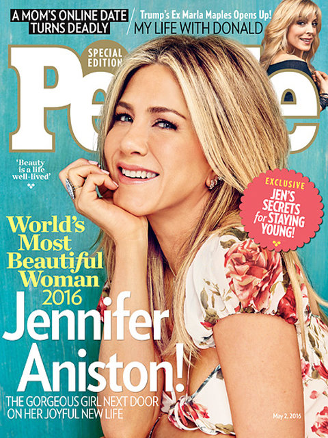 Jennifer Aniston - People Cover