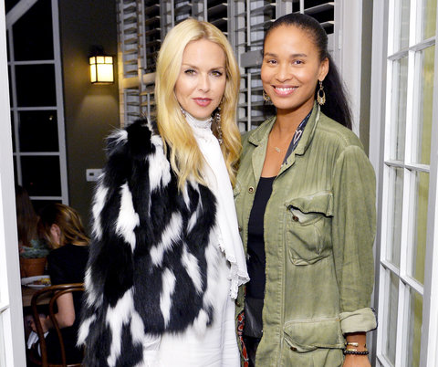 Rachel Zoe and Joy Bryant -  Bally Dinner -  April 21, 2016