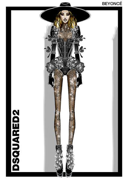 Beyonce DSquared2 EMBED 2