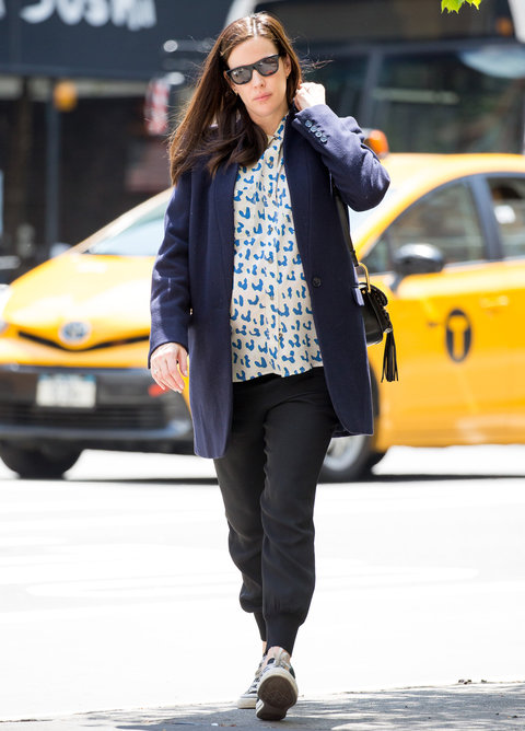 Liv Tyler Maternity Style Street Style - Lead 2016