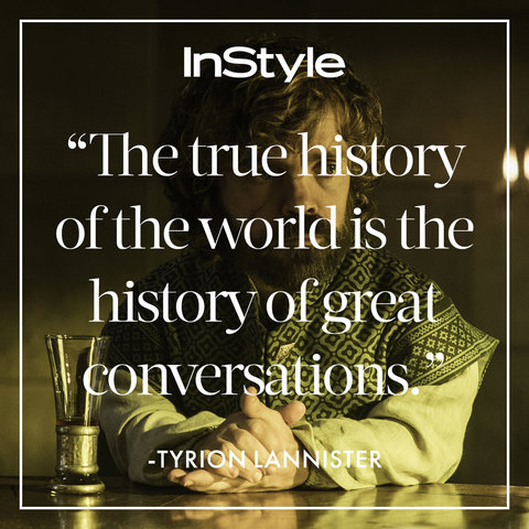 Tyrion Lannister Quote Graphic