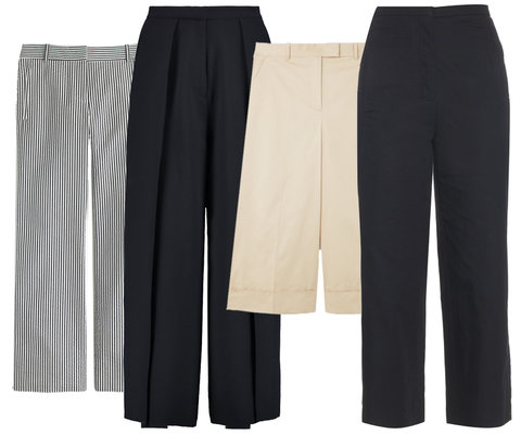 Wake Up Work Wardrobe with Cropped Pants - Embed 2016