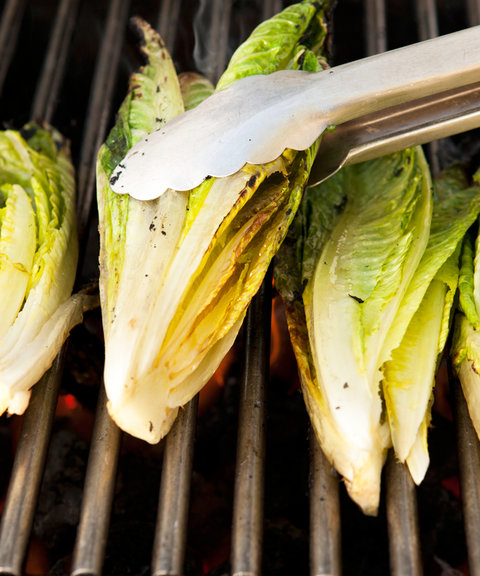 Grilled Romaine Lettuce - Embed 2016