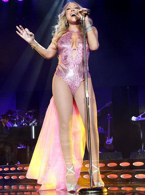 Mariah Dazzles at Essence Festival