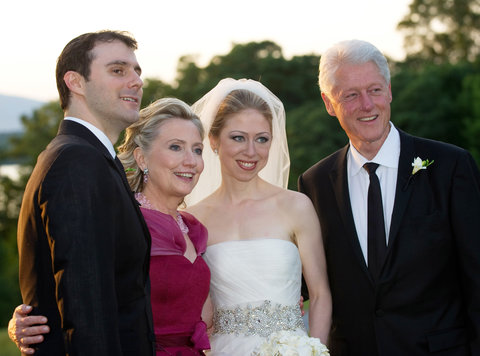 Chelsea Clinton Wedding - July 31, 2010 - EMBED 2