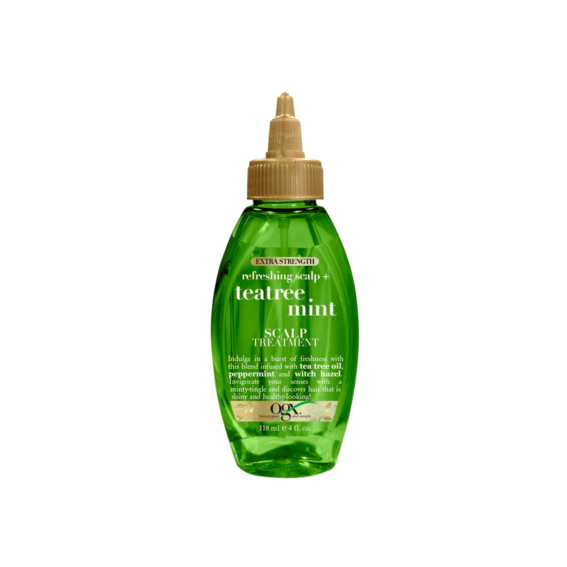OGX Extra Strength Refreshing Scalp + TeaTree Mint Scalp Treatment