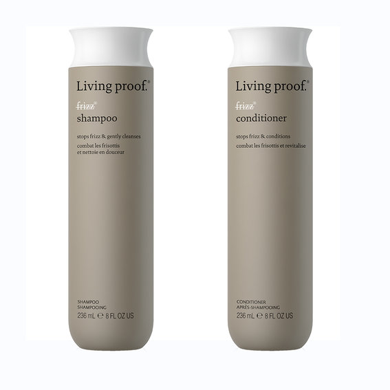 Best Shampoo & Conditioner for Frizzy Hair: Living Proof No Frizz Shampoo and Conditioner