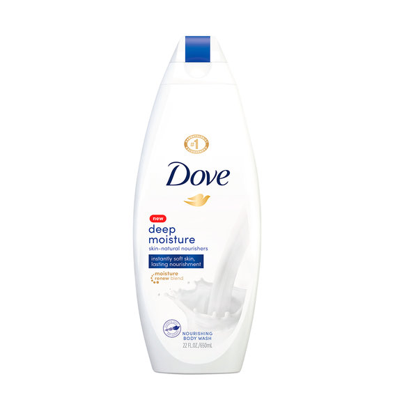 Best Body Wash: Dove Deep Moisture Body Wash