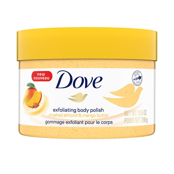 Best Body Scrub: Dove Exfoliating Body Polish