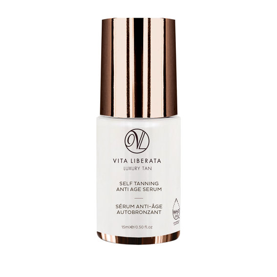 Best Self-Tanner for Face: Vita Liberata Self Tanning Anti Age Serum