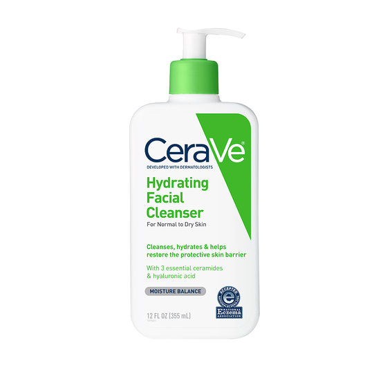Best Cleanser for Dry Skin: CeraVe Hydrating Facial Cleanser