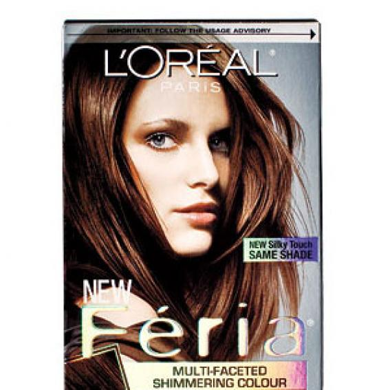 L'Oréal Feria Multi-Facted Shimmering Haircolour