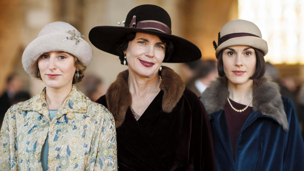 Lady Edith, Cora, and Lady Mary