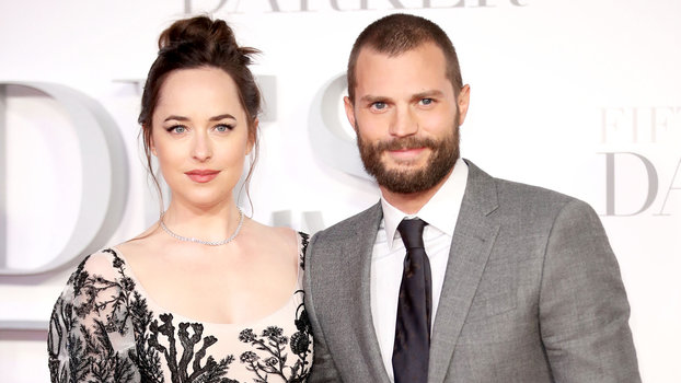 LONDON, ENGLAND - FEBRUARY 09:  Dakota Johnson and Jamie Dornan attends the  Fifty Shades Darker  UK Premiere on February 9, 2017 in London, United Kingdom.  (Photo by Mike Marsland/Mike Marsland/WireImage)