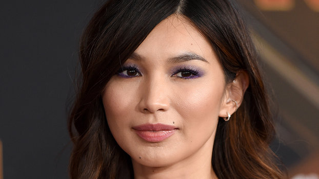 Gemma Chan Now Has Pink Dip-Dyed Hair