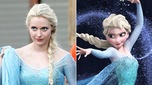 Elsa Braid - Frozen - Once Upon a Time
