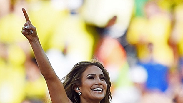 Jennifer Lopez at the 2014 World Cup