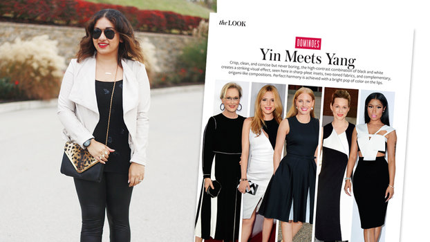 #InspiredByInStyle: Reader of the Week Preeti Chaulk Embraces Black and White