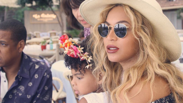 Beyoncé's Instagram of Blue Ivy's Makeup Skills Is the Cutest Thing You Will Ever See