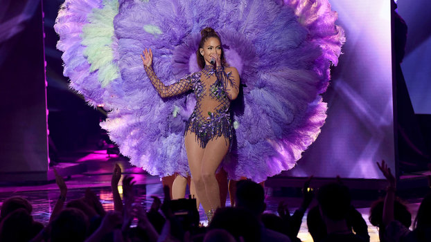 Judge Jennifer Lopez performs onstage at FOX's American Idol Season 15 Finale on April 7, 2016 at the Dolby Theatre in Hollywood, California.