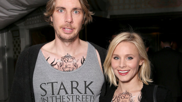 Dax Shepard And Kristen Bell Attend Game Of Thrones Premiere Instyle