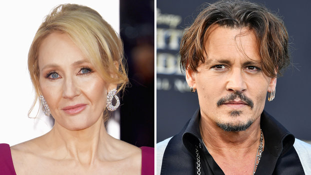 JK Rowling Johnny Depp