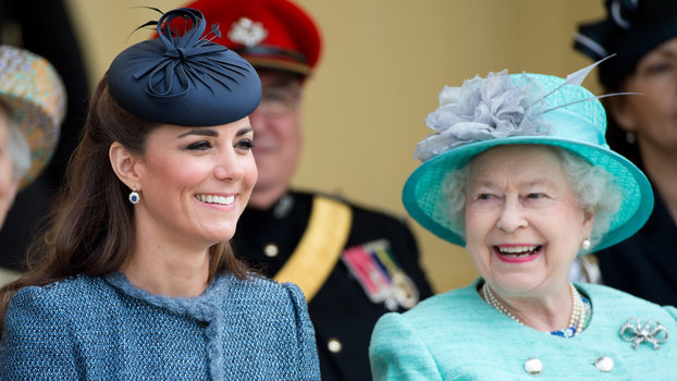 Why Queen Elizabeth Is Reportedly Kate Middleton's Biggest Fan Right Now