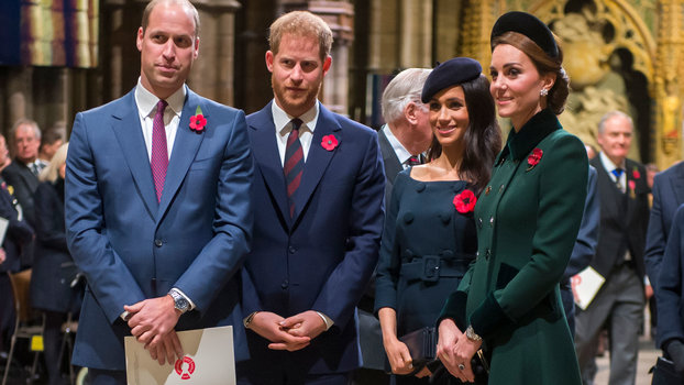 Royal Family At Westminster Abbey Marking The Centenary Of WW1 Armistice